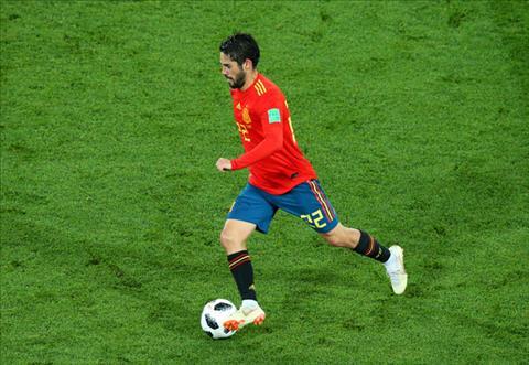Isco phát biểu về trận Tây Ban Nha vs Ma Rốc hình ảnh