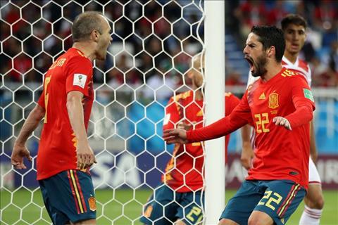 Iniesta va Isco ghi ban cho TBN