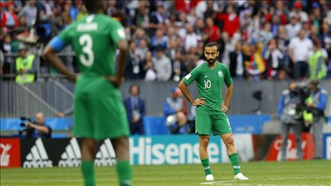 Saudi Arabia thua tran mo man truoc chu nha Nga do trinh dien loi choi qua ngay tho.