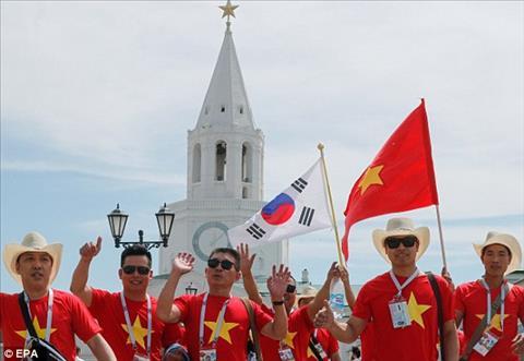 CĐV Việt Nam tại World Cup 2018 gây ấn tượng trên báo Anh hình ảnh