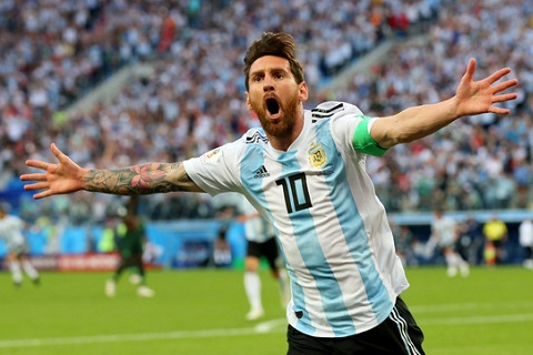 Argentina vượt qua Nigeria Đẳng cấp hay trò lố của FIFA hình ảnh 1