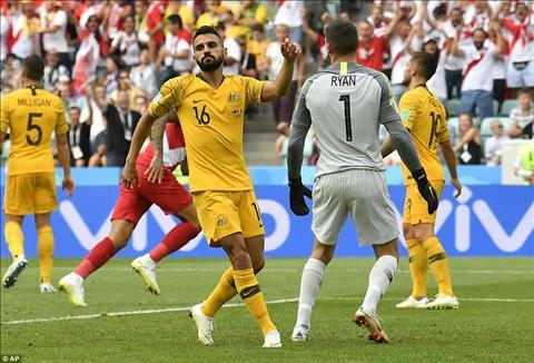 HLV Bert van Marwijk phát biểu về trận Australia vs Peru hình ảnh