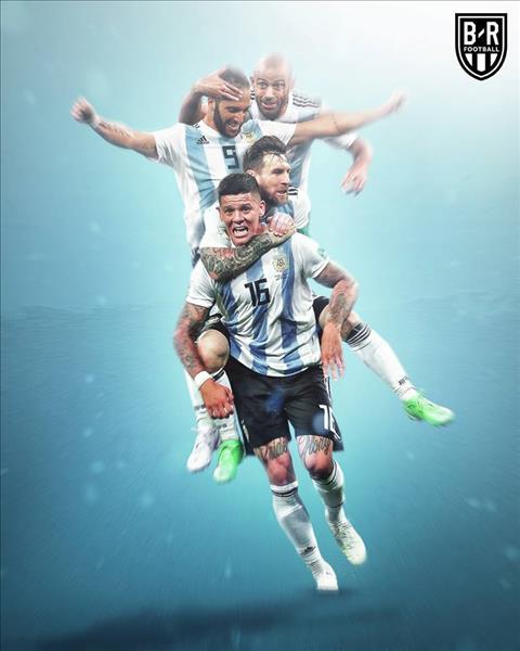 Messi đưa Argentina vượt qua cửa tử Luôn là một ngôi sao sáng chói hơn tất cả! hình ảnh 3