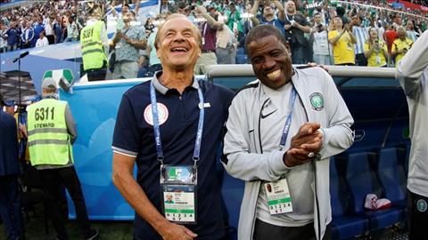 Gernot Rohr phat bieu ve tran Nigeria vs Argentina