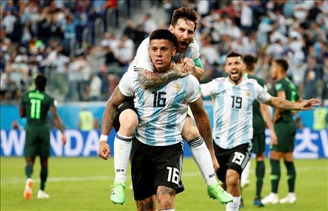 Marcos Rojo Leo Messi