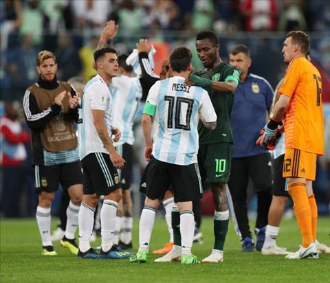 Jon Obi Mikel phat bieu ve tran Nigeria vs Argentina