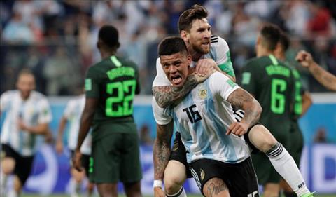 HLV Sampaoli phát biểu về trận Nigeria 1-2 Argentina kịch tính hình ảnh