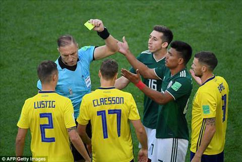 Jesus Gallardo lập kỷ lục trong trận đấu Mexico vs Thụy Điển hình ảnh