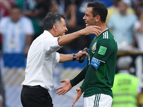 DT Mexico tai World Cup 2018 thi dau thanh cong nho su dieu chinh trong loi choi cua HLV Osorio.