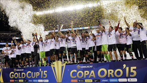 DT Mexico la the luc dang so nhat tai khu vuc CONCACAF.