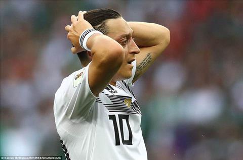 Ozil tiếp tục bị đánh hội đồng từ tuyển Đức