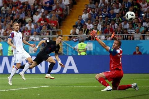 Perisic dut diem lanh lung dem ve chien thang 2-1 cho Croatia