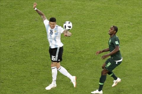 Xem lại tình huống trọng tài không thổi 11m Nigeria vs Argentina hình ảnh