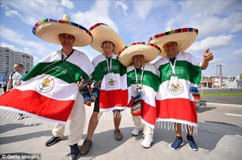 Cac CDV Mexico van gay an tuong manh khi den san co vu.