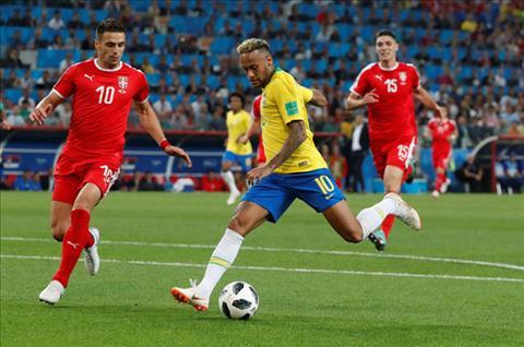 neymar brazil serbia