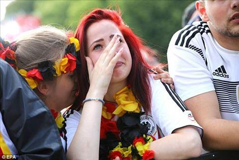 Đức bị loại từ vòng bảng Phải chăng do lời nguyền nhà vô địch hình ảnh