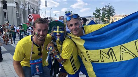 Những hình ảnh ấn tượng trong ngày Mexico thua Thụy Điển hình ảnh