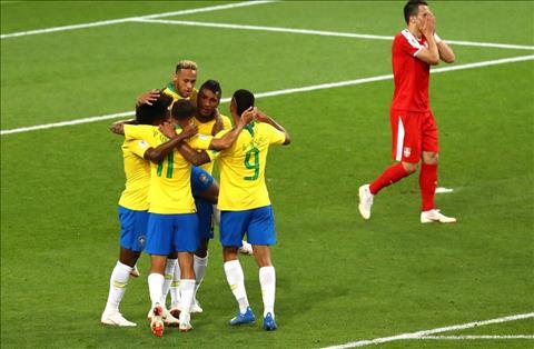 Những thống kê đáng nhớ sau trận đấu Brazil 2-0 Serbia hình ảnh