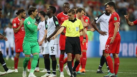 Thống kê Thụy Sỹ vs Costa Rica - Bảng E World Cup 2018 hình ảnh