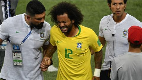 Marcelo chấn thương, Brazil lo sốt vó trước thềm vòng đấu loại hình ảnh