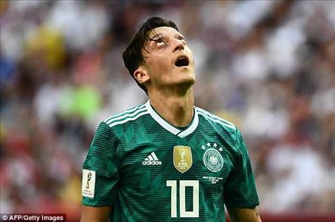Mesut Ozil la mot trong nhung cau thu giau kinh nghiem thi dau quoc te nhat cua DT Duc tai World Cup 2018.