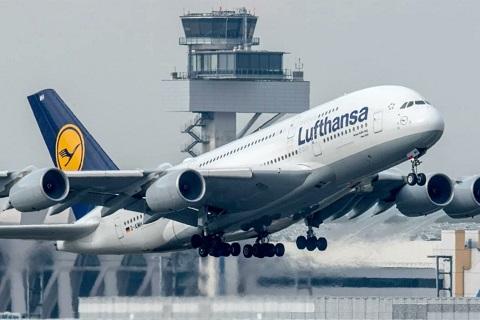 Lufthansa la hang hang khong lon nhat Duc