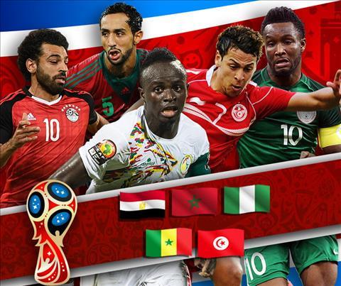 Bóng đá châu Phi tại World Cup 2018 Nỗi buồn lục địa đen hình ảnh 2
