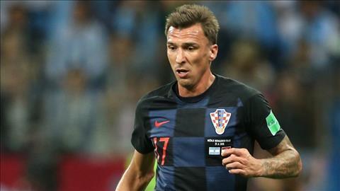 Linh hồn Mario Mandzukic của Croatia tại World Cup 2018 hình ảnh