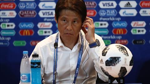 Akira Nishino phat bieu ve tran Nhat Ban vs Ba Lan