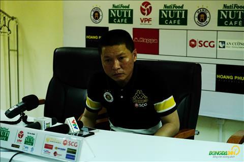 HLV Chu Đình Nghiêm tuyên bố tự tin sau trận thắng Thanh Hóa hình ảnh