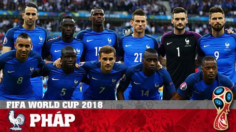 Lịch thi đấu đội tuyển Pháp World Cup 2018 LTĐ World Cup Pháp hình ảnh