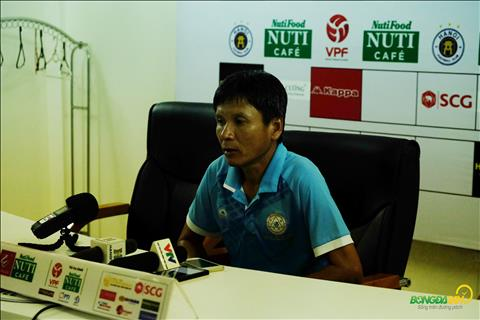 HLV Võ Đình Tân phát biểu sau trận Hà Nội vs Khánh Hòa