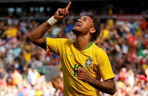 Neymar cua Brazil ghi ban truoc Croatia