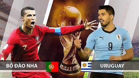 Nhận định Uruguay vs Bồ Đào Nha (1h00 - 17) Trọng pháo đối đầu hình ảnh