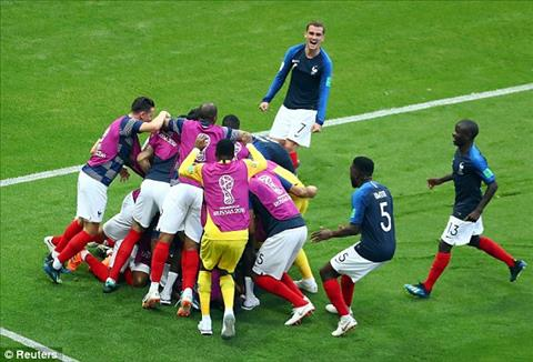 Vieira tin tưởng Pháp sẽ vào chung kết World Cup 2018 hình ảnh