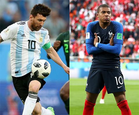 Link xem trực tiếp Pháp vs Argentina vòng 18 World Cup 2018 hình ảnh