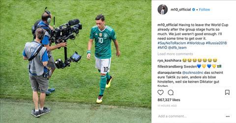 Tiền vệ Ozil nói gì về kỳ World Cup 2018 thảm họa hình ảnh