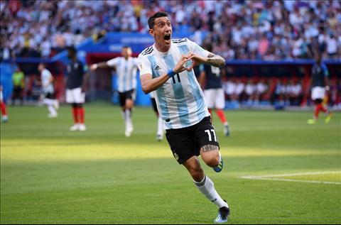 tien ve Di Maria ghi ban cho Argentina
