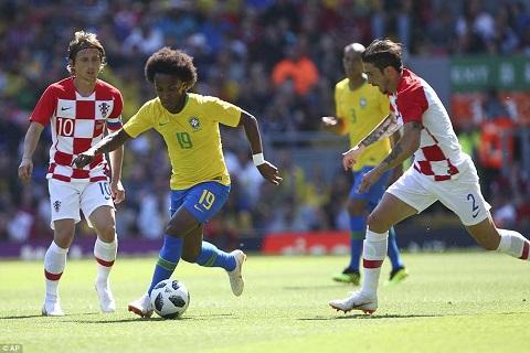 Những điểm nhấn Brazil vs Croatia giao hữu quốc tế ảnh 1