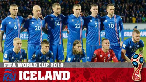 Lịch thi đấu Iceland tại World Cup 2018, LTĐ đội tuyển Iceland hình ảnh