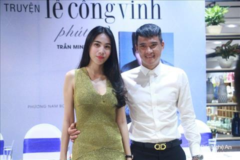 Tu truyen cua Cong Vinh nhac nhieu den hinh bong Thuy Tien.