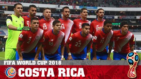 LTĐ - Lịch thi đấu đội tuyển Costa Rica tại World Cup 2018 hình ảnh