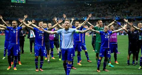 Man Viking Clap noi tieng cua DT Iceland tai Euro 2018.