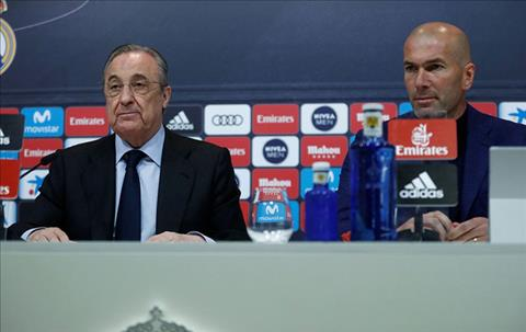 HLV Zidane roi Real la vi Ronaldo