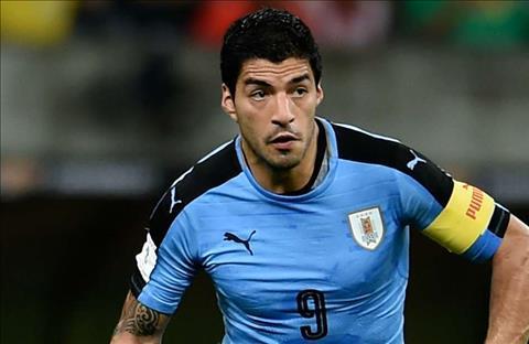 Uruguay tien dao Luis Suarez