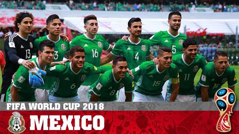 Lịch thi đấu World Cup 2018 của đội tuyển Mexico, LTĐ Mexico hình ảnh