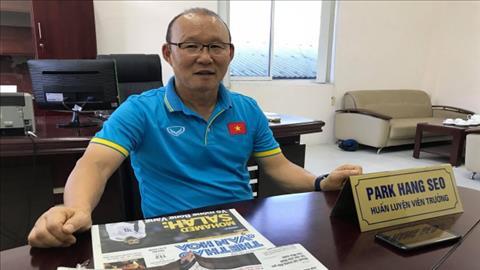HLV Park Hang Seo chi cach du World Cup cho bong da Viet Nam.