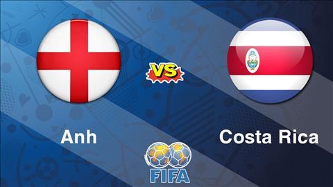 Anh vs Costa Rica trong tran giao huu cuoi cung cua Tam su truoc them World Cup 2018