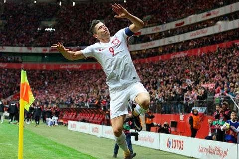 Lewandowski Ba Lan tai World Cup 2018