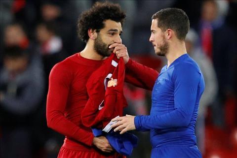 Eden Hazard phát biểu về Mohamad Salah hình ảnh